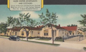 HOT SPRINGS NATIONAL PARK, Arkansas, 1930-40s; Klein Center Apartments and Co...
