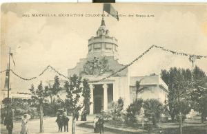 Marseille, Exposition Coloniale, Pavillon des Beaux-Arts