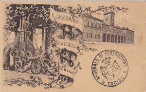 Arsenale Costruzion , TORINO , Italy , 00-10s ; Cannon making