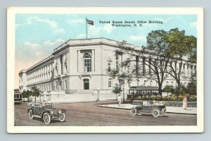 United States Senate Office Building Street Cars Washington D.C. Postcard
