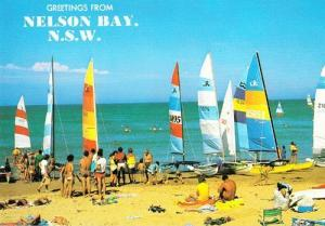 Nelson Bay New South Wales Australian Postcard