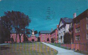 Rhode Island Providence New Quadrangle Brown University 1960