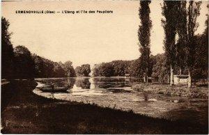CPA Ermenonville- Etang et l'ile des Peupliers FRANCE (1020486)