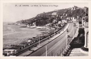 France Le Havre La Heve la Falaise et le Plage Photo