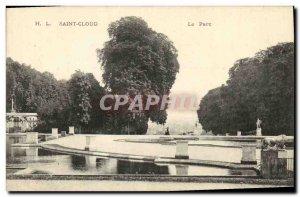 Postcard Old St Cloud Park