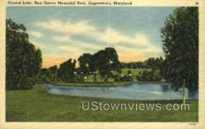 Crystal Lake, Rest Haven Memorial Park Hagerstown MD Unused
