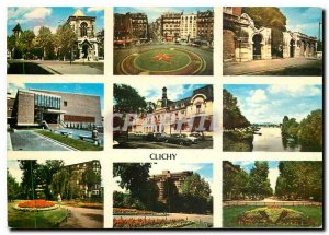Modern Postcard Images of France Various aspects of the city