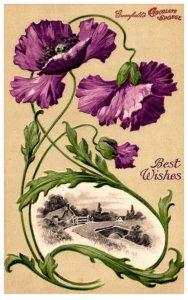 New York , Greenfield Chocalate Sponge , Flowers