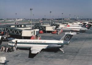 Aer Lingus, BAC 111 at London Heathrow Airport Postcard