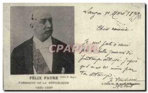 COPY Felix Faure President Of The Republic 1895 1899