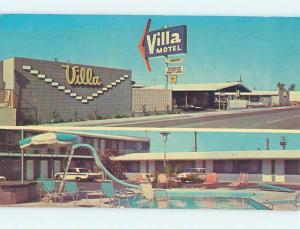 Pre-1980 VILLA MOTEL Fresno California CA M4586