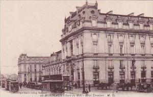 France Bordeaux Gare du Midi Hotel Terminus Train Station
