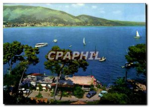 Modern Postcard The French Riviera Cap Martin Menton seen from the Cape