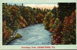 Pennsylvania Greetinsgs From Cross Fork