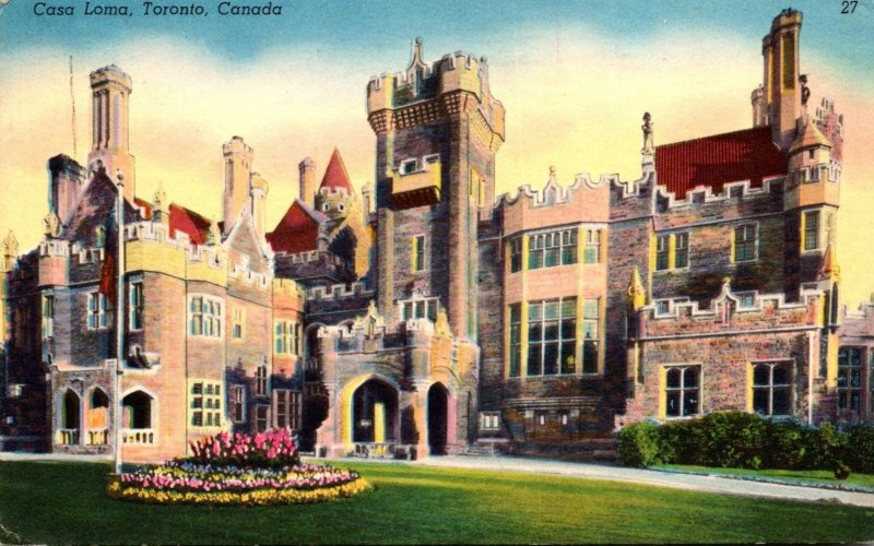 Canada Toronto Casa Loma 1955