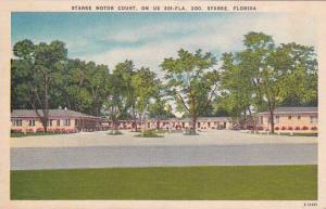 Florida Starke Starke Motor Court 1956