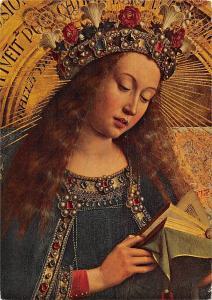 Van Eyck Het Lam Gods, Onze Lieve Vrouw La Vierge The Virgin