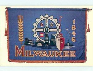 Chrome HISTORICAL SCENE Milwaukee Wisconsin WI AH4143
