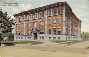 Massachusetts Worcester South High School 1910