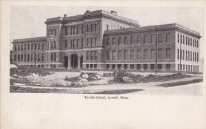 Textile School, LOWELL, Massachusetts, 1900-1910s