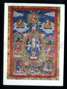 180086 TIBET Avalokiteshvara old postcard