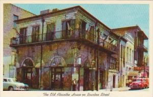 Louisiana New Orleans The Old Absinthe House On Bourbon Street