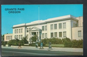 America Postcard - Josephine County Courthouse, Grants Pass, Oregon   RS20421