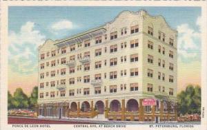 Forida St Petersburg Ponce De Leon Hotel