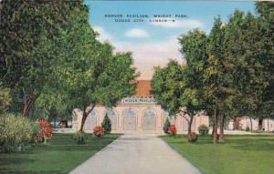 Kansas Dodge City Hoover Pavilion Wright Park