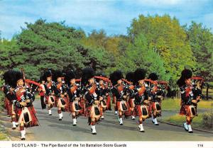 Scotland The Pipe Band of the 1st Battalion Scots Guards