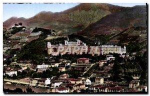 Menton - Valley of Borrigo - The Hotels - Old Postcard