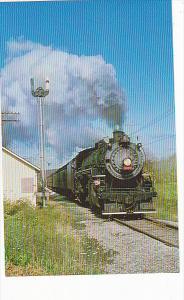 Cuyahoga Valley Railway Ex-Grand Trunk Western Locomotive #4070 at Jaite Ohio