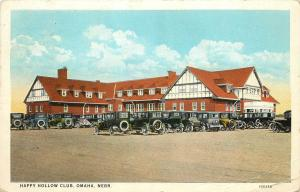 1915-1930 Postcard; Happy Hollow Country Club, Omaha NE Golf, Posted