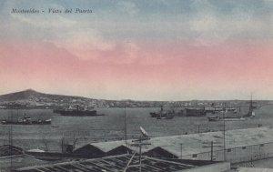 MONTEVIDEO, Uruguay, 1900-1910's; Vista Del Puerto