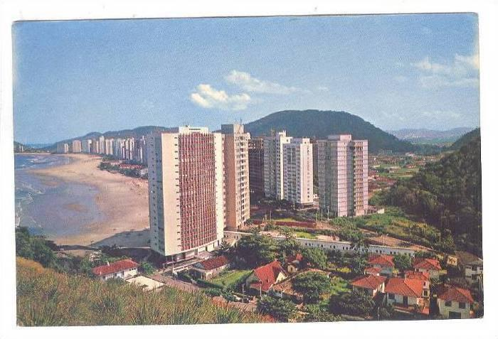 Guaruja Island, Pitangneira Beach, Guaruja, Brazil, 50-70s