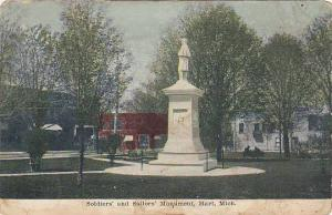 'Soldiers' and Sailors' Monument, Hart, Michigan, 00-10s