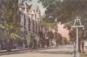 California Riverside Glenwood Mission Inn Orange Street View Handcolored Albe...