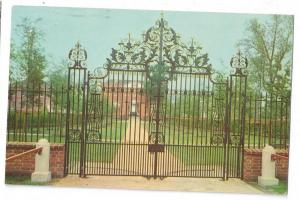 Tryon Palace New Bern NC North Carolina Entrance Gates