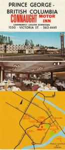 PRINCE GEORGE , B.C. , Canada , 50-60s ; Connaught Motor Inn