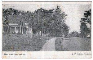 Milbridge, Me, Main Street