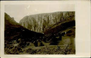 IMR00136 romania cluj cheile turzii gorge general view 1932 real photo 9x14 cm