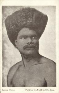 fiji islands, Native Fijian Male (1930s)