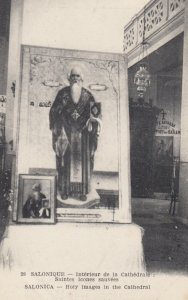 SALONICA , Greece , 00-10s ; Holy Images in the Cathedral