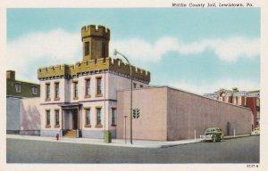 LEWISTOWN , Pennsylvania, 10-30s ; Mifflin County Jail