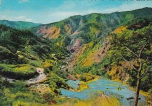 Philippines The Baguio Zig Zag Road