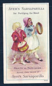 VICTORIAN TRADE CARD Ayer's Sarsaparilla