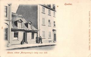 B92080 quebec house where montgomery s body was laid  canada