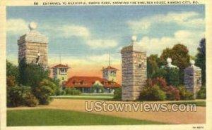 Entrance to Swope Park in Kansas City, Missouri