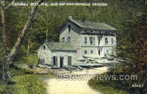 Old Rip Van Winkle Tavern Catskill Mountains NY Unused