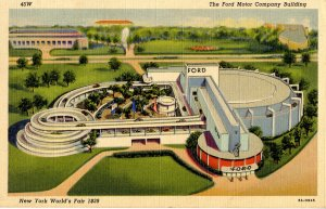 NY - New York World's Fair, 1939. Ford Motor Co Building